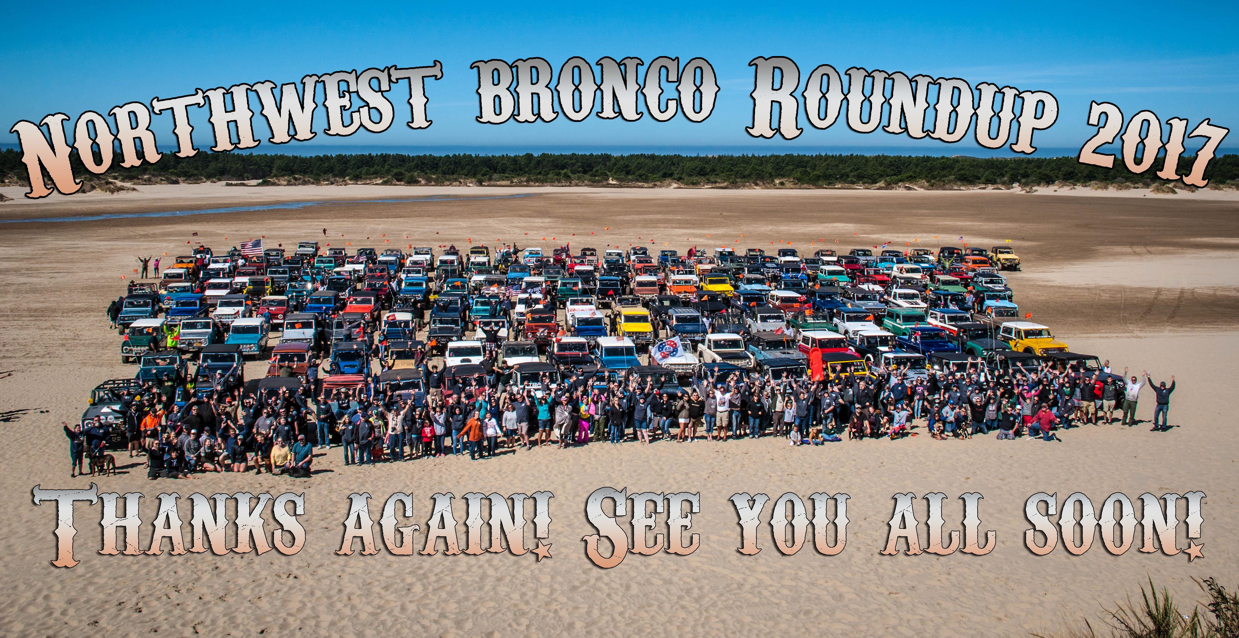 Northwest Bronco Roundup 2017 Beach Photo